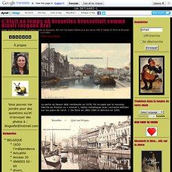 vismet - marchés-port de bruxelles,canal,senne : c'était au temps où bruxelles brussellait