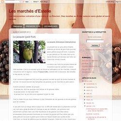 Le jacquier (jack fruit)