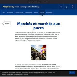 Marchés et marchés aux puces - Prague.eu