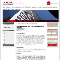 Les marchés en immobilier d'entreprise : Keops