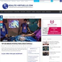 Top 5 des marchés potentiels pour la réalité virtuelle
