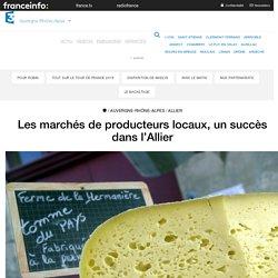 FRANCE 3 17/06/17 Les marchés de producteurs locaux, un succès dans l'Allier