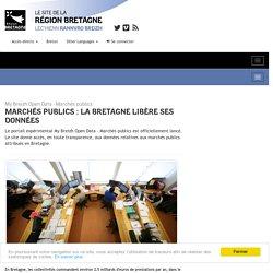 Marchés publics : la Bretagne libère ses données