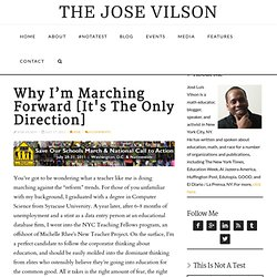 Why I'm Marching Forward [It's The Only Direction]