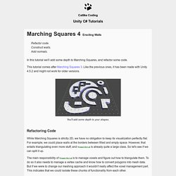 Marching Squares 4, a Unity C# Tutorial