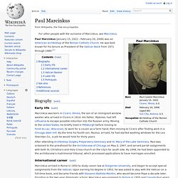 Paul Marcinkus