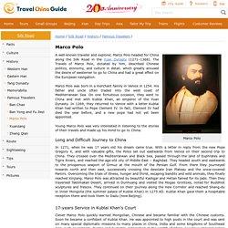 Marco Polo – Silk Road Traveler and Explorer