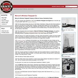 Marconi's Wireless Telegraph Co