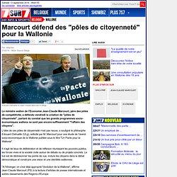 """Marcourt défend des """"pôles de citoyenneté"""" pour la Wallonie"""