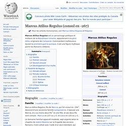 Marcus Atilius Regulus (consul en -267)