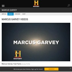 Marcus Garvey: Fast Facts Video - Marcus Garvey