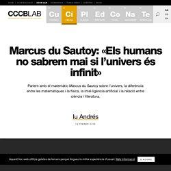 Marcus du Sautoy: «Els humans no sabrem mai si l'univers és infinit»