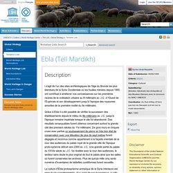 Ebla (Tell Mardikh)