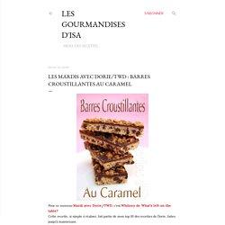 Barres croustillantes au caramel