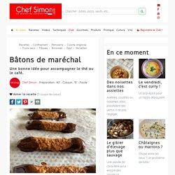 Les bâtons de maréchal une excellente recette pour utiliser les blancs d'oeufs - Recette par Chef Simon