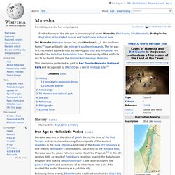 Maresha