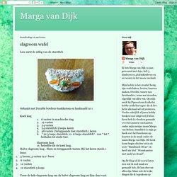 Marga van Dijk: mei 2014