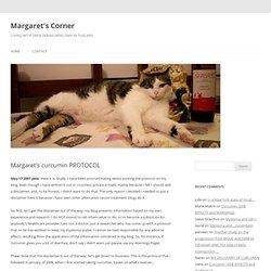 Margaret's curcumin PROTOCOL