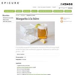 Margarita à la bière