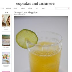 Orange – Lime Margaritas