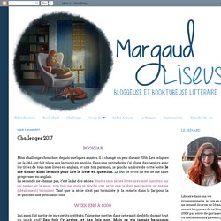 Margaud Liseuse: Challenges 2017