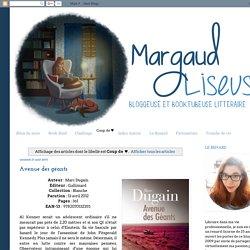 Margaud Liseuse: Coup de ♥