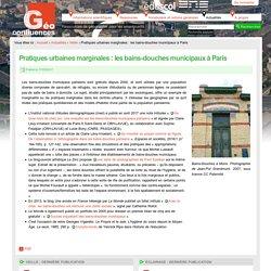 Pratiques urbaines marginales : les bains-douches municipaux à Paris