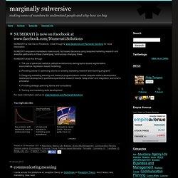 marginally subversive
