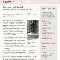 Marguerite Durand - 8mars.info