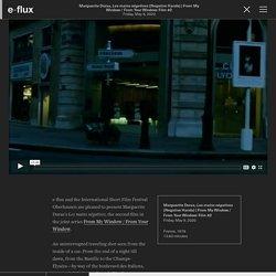 Marguerite Duras,Les mains négatives (Negative Hands) - Video & Film