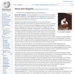 Maria från Magdala