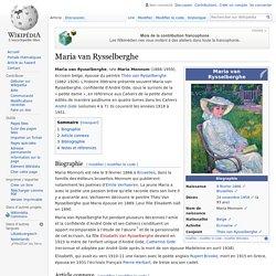 Maria van Rysselberghe