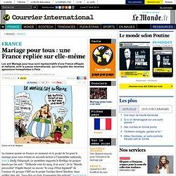 Mariage pour tous : une France repliée sur elle-même
