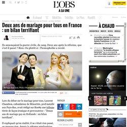 Deux ans de mariage pour tous en France : un bilan terrifiant