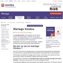 Mariage hindou : us et coutumes du mariage hindou