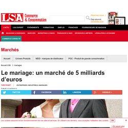 Le mariage: un marché de 5 milliards d'euros