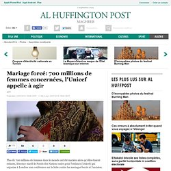 Mariage forcé: 700 millions de femmes concernées, l'Unicef appelle à agir