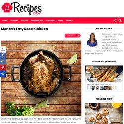 Marian's Easy Roast Chicken – Easy Recipes
