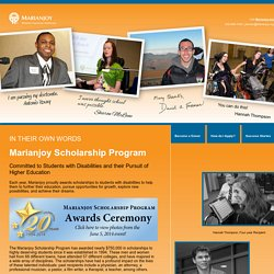 Marianjoy Scholarship Program