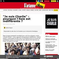 """""""Je suis Charlie"""" : pourquoi l'Asie est indifférente ?"""