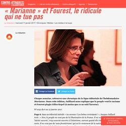 « Marianne » et Fourest, le ridicule qui ne tue pas