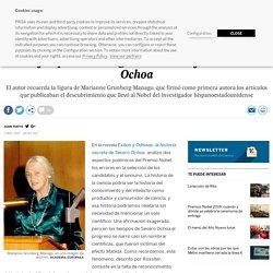 Marianne Grunberg-Manago: La mujer que mereció ganar el Nobel junto a Severo Ochoa