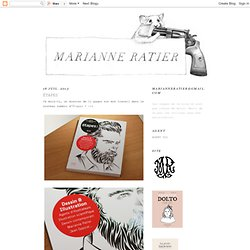 Marianne Ratier : Le blog