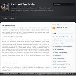 04 Les Mariannes stars - Marianne Républicaine