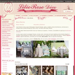 Blanc Mariclo - Boutique déco - vente en ligne - shabby - mariclo - charme d'antan - Lilierose deco
