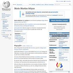Marie-Martine Schyns