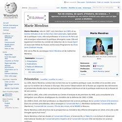 Marie Mendras