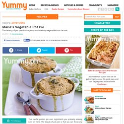 Marie's Vegetable Pot Pie