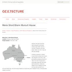 Marie Short/Glenn Murcutt House - OZETECTURE