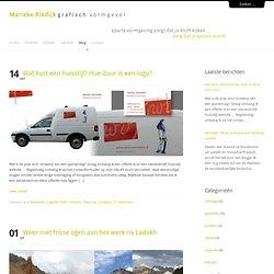 eigen blog: Marieke Riedijk grafisch vormgever